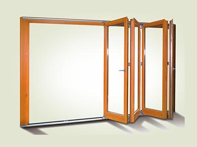 Schiebe und Faltfenster