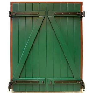 Bretter Fensterladen
